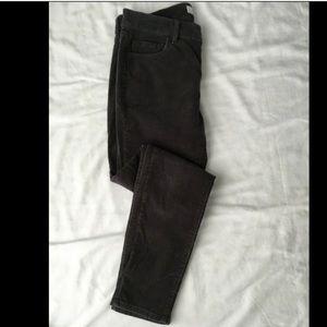 Ann Taylor Loft Corduroy Pants Modern Skinny 4 27
